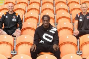 Blackpool Academy Manager delighted as Cameron Antwi pens first pro contract