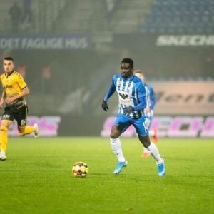 Dauda Mohammed's Esbjerg FB side relegated from Danish top-flight