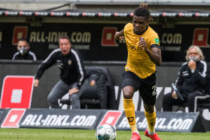Godsway Donyoh returning to FC Nordsjaelland after short loan spell at Dynamo Dresden