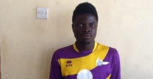 Striker Jacob Apau set to sign for Ashgold