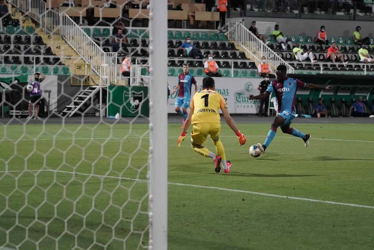 Caleb Ekuban's goal not enough as Trabzonspor suffer defeat at Denizlispor