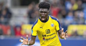 Ghanaian winger Emmanuel Sabbi scores 7th goal of the season for Hobro IK