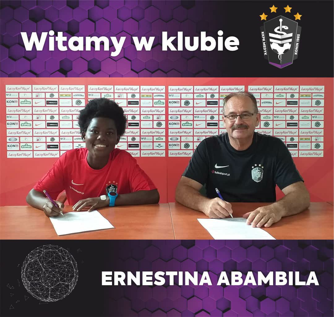 Black Queens midfielder Ernestina Abambila delighted to join Polish giants KKPK Medyk Konin