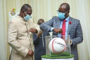 Days of insufficient footballs for clubs is history - GFA boss Kurt Okraku