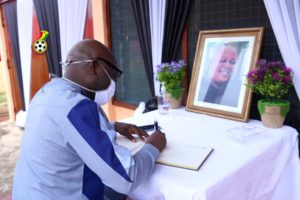 GFA delegation calls on family of late Ampem Darko