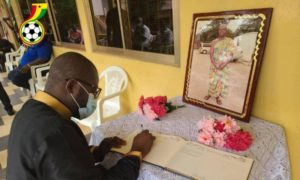 GFA delegation calls on family of late Ghana striker Opoku Afriyie