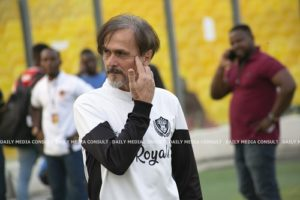 Modern football is all about speed - Legon Cities coach Goran Barjaktarević