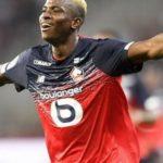 Nigerian striker Victor Osimhen signs for Napoli