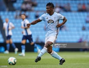 Joseph Aidoo among Celta Vigo players a card away from suspension ahead of Atl. Madrid clash tonight