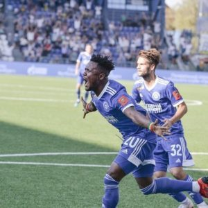 Joel Fameye nets consolation goal for Orenburg in heavy defeat to Zenit St. Petersburg