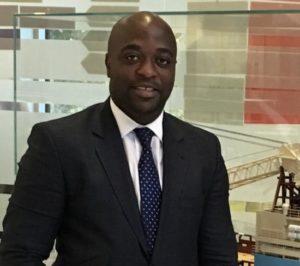 Dr Kofi Abban presents Nana Yaw Amponsah and Maxwell Konadu with Toyota cars