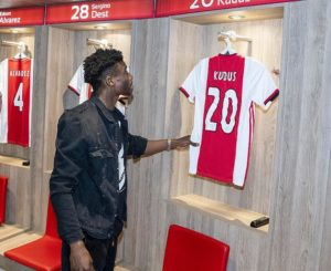 George Boateng lauds Kudus Mohammed after Ajax move