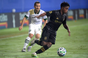 VIDEO: Ghanaian winger Latif Blessing provides an assist in LAFC draw against Portland Timbers