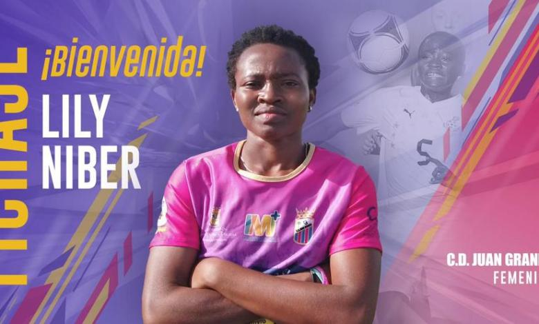 Black Queens midfielder Lily Niber Lawrence delighted after signing for CD Juan Grande Femenino