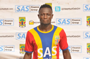 Coronavirus has halted my transfer plans – Ex-Hearts striker Maxwell Boakye