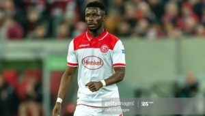 Fortuna Dusseldorf receive offer from Turkey for winger Nana Ampomah