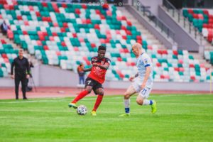 Ghana's Francis Narh bags 'Player of the Month' award at FC Slavia-Mozyr