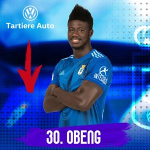 Samuel Obeng scores to inspire Real Oviedo to 4-2 win at Zaragoza