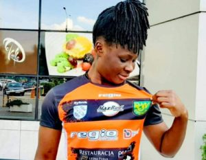 Polish side TS Row sign Ghanaian forward Priscilla Hagan