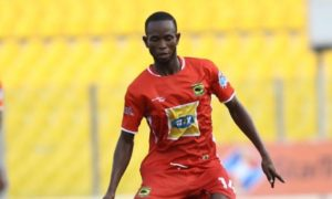 Ricard Senanu set sight on first eleven role at Kotoko when football returns