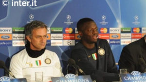 Sulley Muntari shares his thoughts on Jose Mourinho during his time at Inter Milan