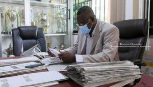 Kotoko board member Yaw Adu working to get new equipment for club's secretariat