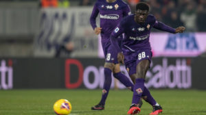 Fiorentina midfielder Alfred Duncan picks FV award for his inspiring performance against Cagliari