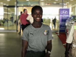Mukarama Abdulai dreams of winning World Cup with Black Queens