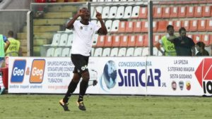 Ghanaian striker Emmanuel Gyasi included in Serie B Team of the Week