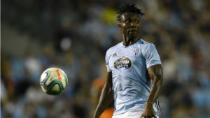 Joseph Aidoo named in Celta Vigo's first eleven to face Atl. Madrid tonight
