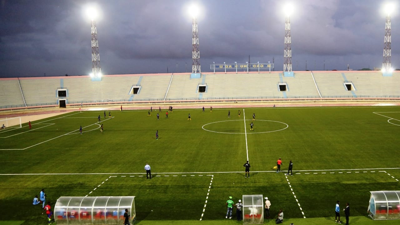 Stadium Mogadishu reopens after a 16-year closure