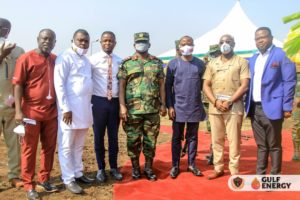 Gulf Energy, Legon Cities FC to fund construction of soldiers accommodation at Bundase