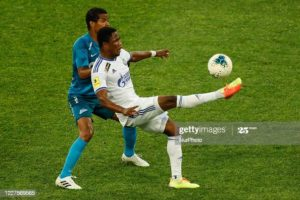 Joel Fameyeh scores 11th goal of the season for Orenburg against Krasnoyarsk