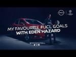 MY FAVOURITE #UCL GOALS WITH EDEN HAZARD
