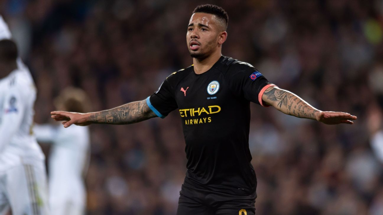 Gabriel Jesus slowly moving out of Ronaldo's shadow