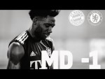 Let's go! Alphonso Davies and FC Bayern are ready for playing Chelsea FC