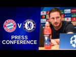 Lampard Reports Pulisic & Azpilicueta Injuries & Gives Willian Update | Bayern Munich v Chelsea