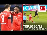 Top 10 Goals FC Bayern München 2019/20 - Lewandowski, Coutinho & Co.