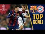 TOP GOALS vs Bayern Munich 🔥