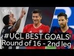 DEPAY, RONALDO, MESSI : #UCL BEST GOALS, Round of 16 - Second leg