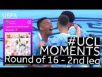 MAN. CITY, LEWANDOWSKI, MESSI: #UCL R16 BEST MOMENTS (Second leg)