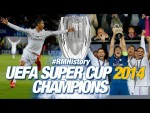 🔥 UEFA Super Cup 2014 | Real Madrid 2-0 Sevilla | 2 Cristiano goals!