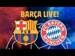 🔥THE CHAMPIONS LEAGUE CONTINUES 🏆 BARÇA LIVE: Match Center ⚽ #BarçaBayern