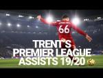 Every Trent Alexander-Arnold Premier League assist 2019/20