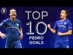Pedro's Top 10 Chelsea Goals | Thank You Pedro