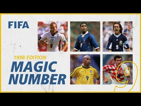 Batistuta, Ronaldo, Suker & more! | No9s at France 1998 | Magic Number