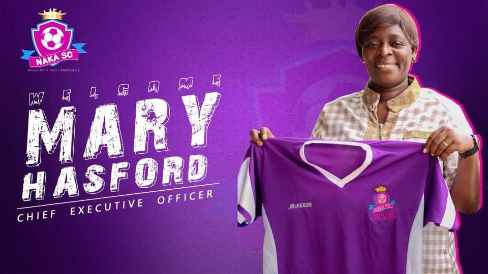 Nana Afia Kobi Ampem Ladies to unveil Mary Hasford as new CEO today