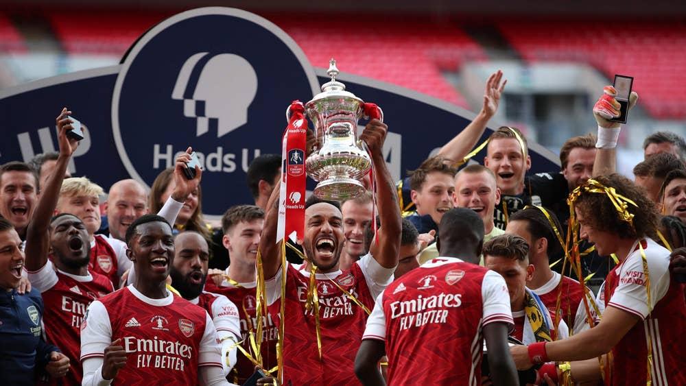 Eddie Nketiah clinches FA Cup with Arsenal