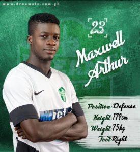 Defender Maxwell Arthur elated with new Dreams FC contract