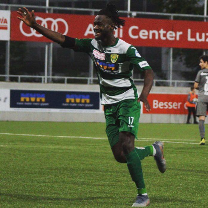 Abubakar-Ankrah scores late winner for SC Kriens